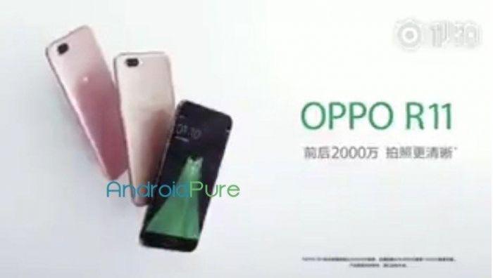 Oppo R11 показали в рекламном ролике – фото 1