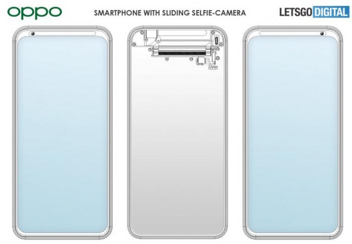 Oppo может предложить подвижную селфи-камеру. Подробности патента – фото 1