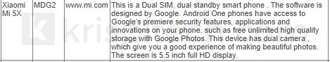 Xiaomi выпустит смартфон с Android One – фото 2