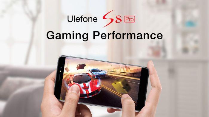 Игровые возможности Ulefone S8 Pro на видео от производителя – фото 2