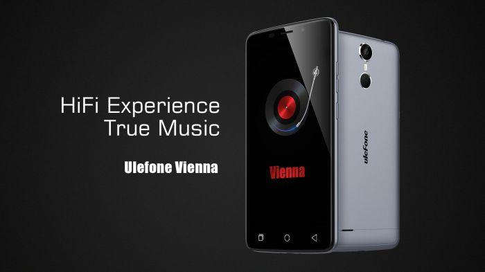 Музыкальный смартфон Ulefone Vienna сменил конфигурацию на 3 Гб ОЗУ и 8-ядерный МТ6753 – фото 1