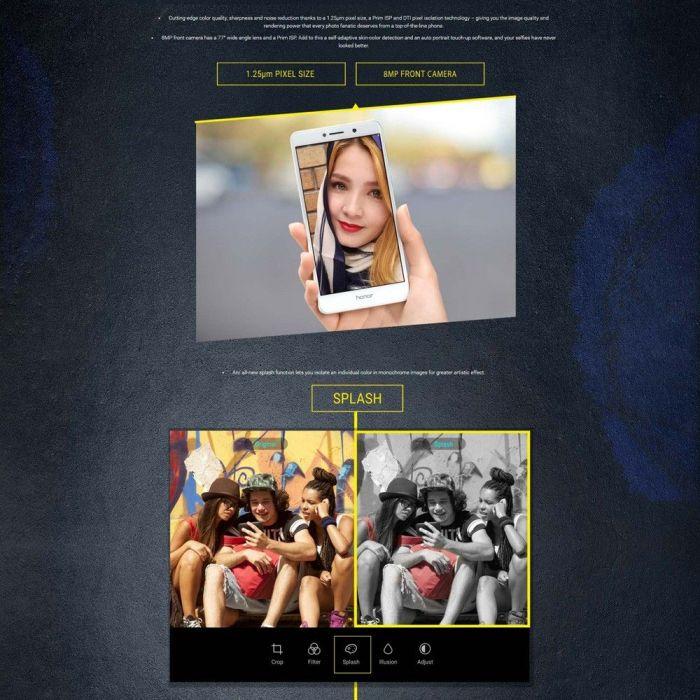 Huawei Honor 6X со скидкой в интернет-магазине Tomtop – фото 2