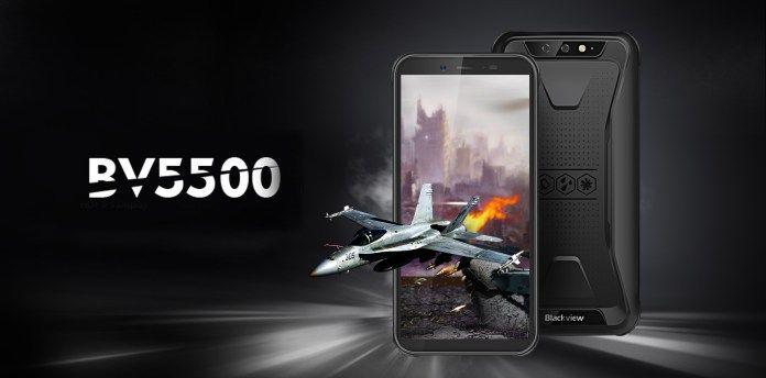 Смартфон Blackview BV5500: практичный, сверхвысокопрочный и современный – фото 1