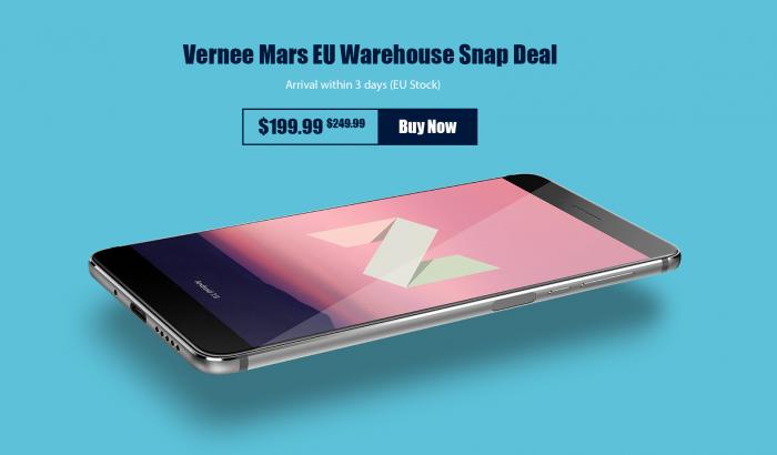 Розыгрыш Vernee Mars с Android 7.0 Nougat – фото 3