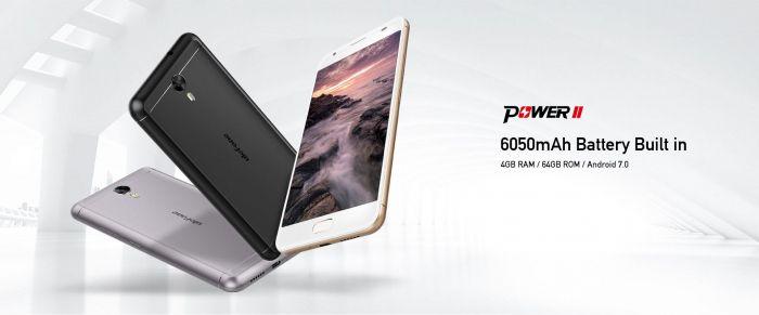 Ulefone Power 2 — смартфон-долгожитель с аккумулятором на 6050 мАч – фото 1