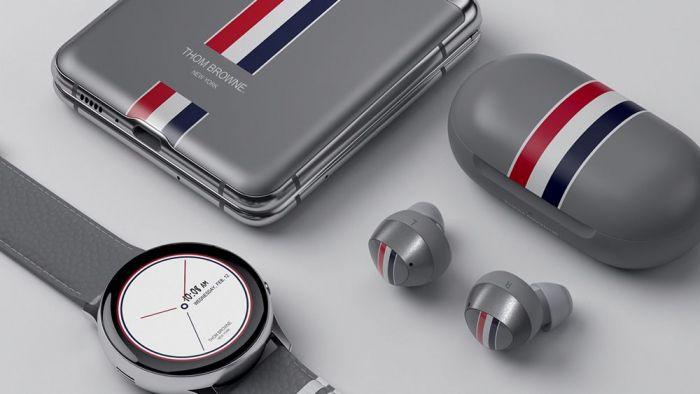 Эксклюзивный Samsung Galaxy Z Flip Thom Browne Edition: искусство стиля – фото 1