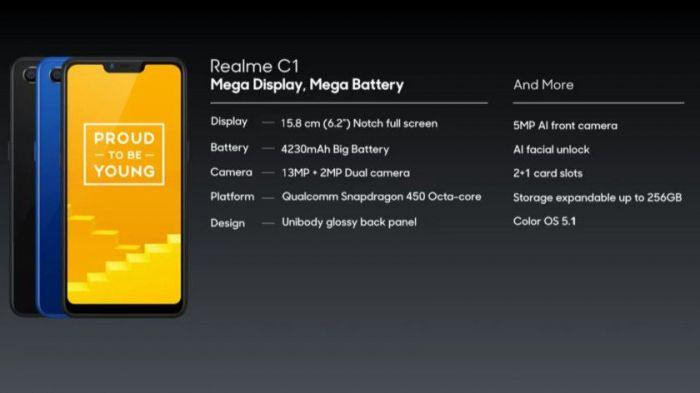 Представлен среднего уровня Realme 2 Pro и ультрабюджетник Realme C1 – фото 7
