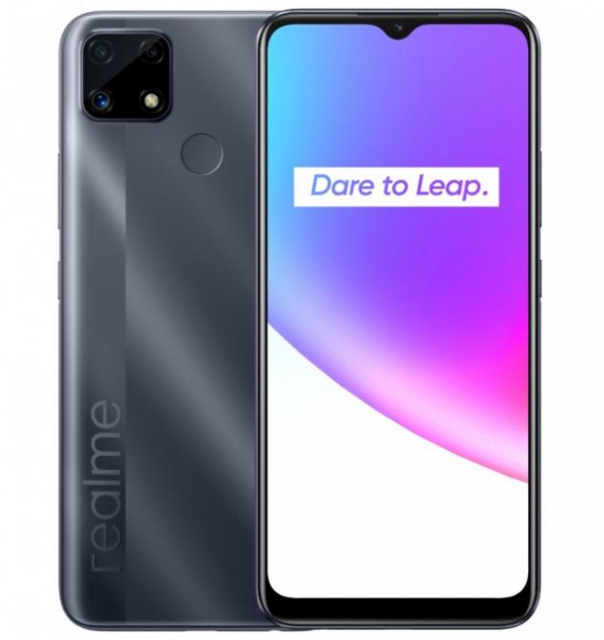 Представлен Realme C25 с емкой батарейкой – фото 1