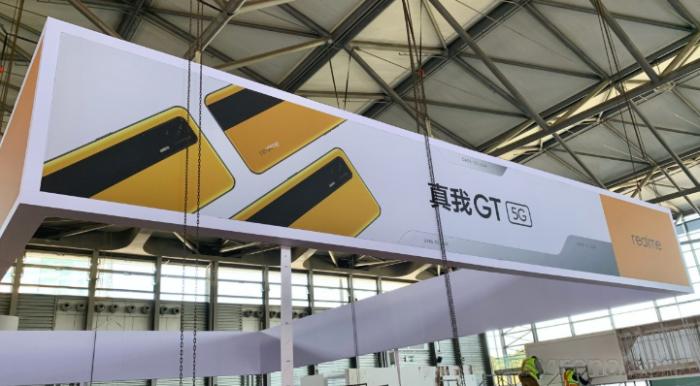 Realme GT в своем эксклюзивном исполнении показался на промо-изображении – фото 1
