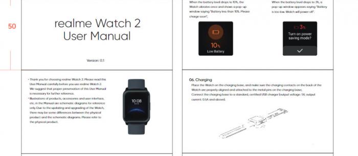 Realme Watch 2 добавит в автономности – фото 1
