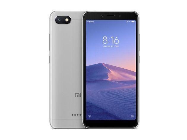 Представлен Xiaomi Redmi 6A: ультрабюджетка до $100 на MediaTek – фото 1