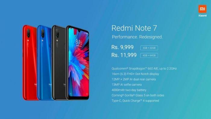 Странные метаморфозы Redmi Note 7, представленного в Индии – фото 3