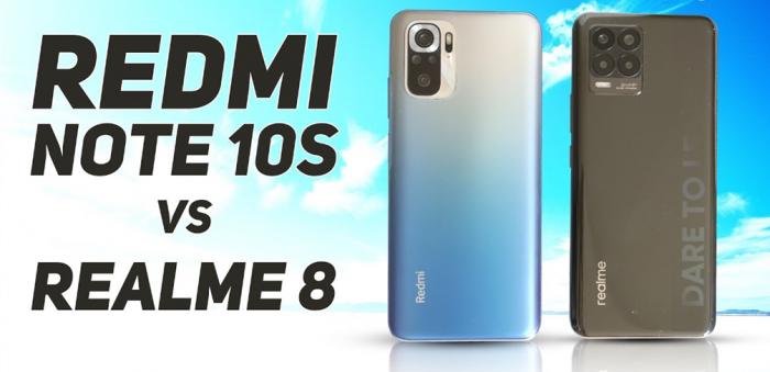 Redmi Note 10S vs Realme 8: что покупать – фото 1