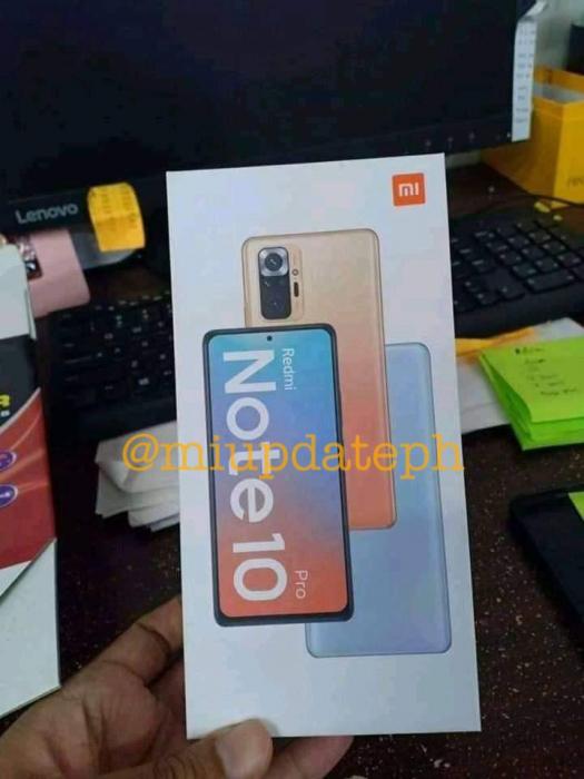 Redmi Note 10 все ближе: видеотизер и упаковка для Redmi Note 10 Pro – фото 1