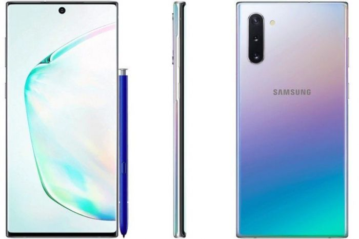 сравнение Samsung Galaxy Note 10 и Galaxy Note 10+