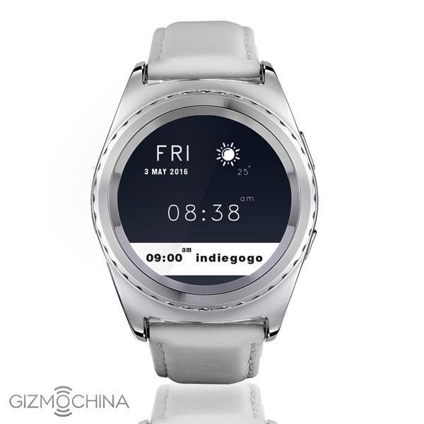 No. G4: круглые умные часы всего за $40 – фото 2