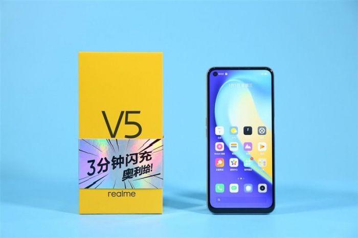 Анонс Realme V5: смартфон с 90-Гц экраном, емкой батареей и Dimensity 720 от $200 – фото 1