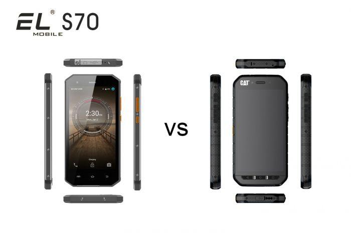 EL S70 — новое имя в сегменте защищенных смартфонов и конкурент  CAT S41 – фото 3