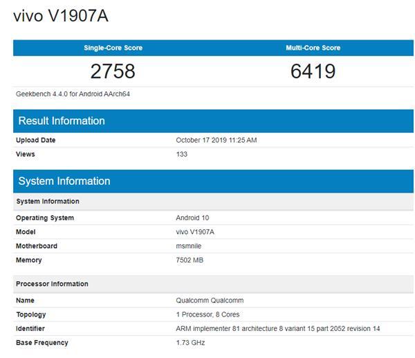 5G-чип Snapdragon 7250 прошел тест в Geekbench – фото 1