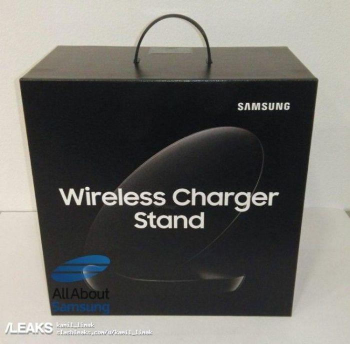 Живые фото новой беспроводной зарядки Samsung EP-N5100 для смартфона Galaxy S9 – фото 2