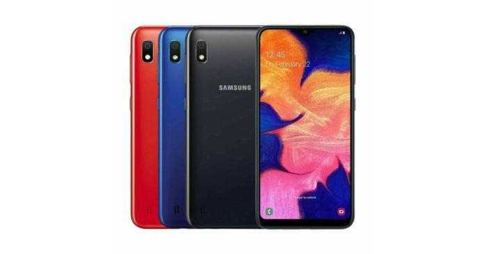 Новые подробности о Samsung Galaxy A10s