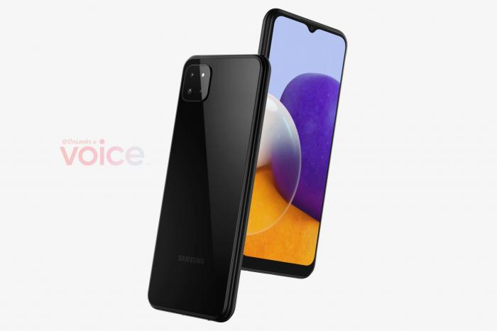 Samsung Galaxy A22 показали со всех сторон – фото 1