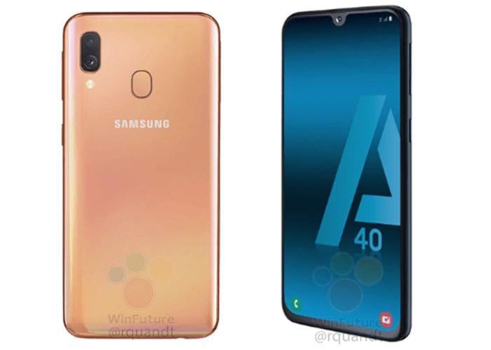 Samsung Galaxy A40 будет компактным для наших дней смартфоном с емкой батарейкой – фото 1