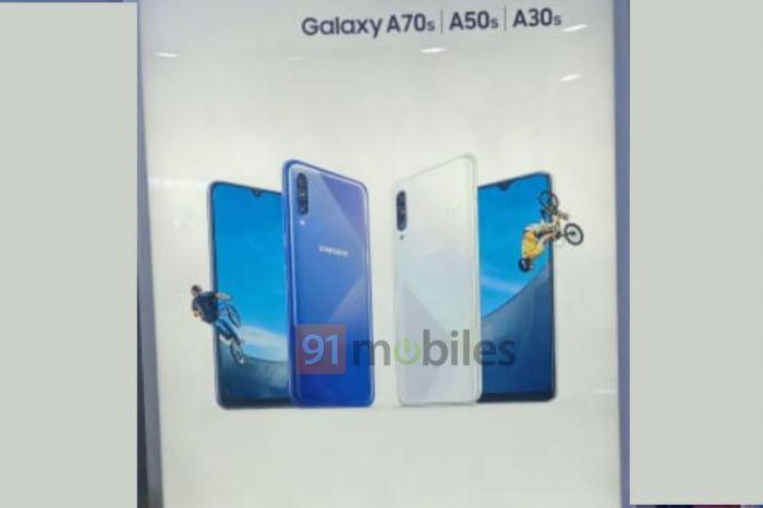Samsung Galaxy A70s должен предложить 64 Мп камеру
