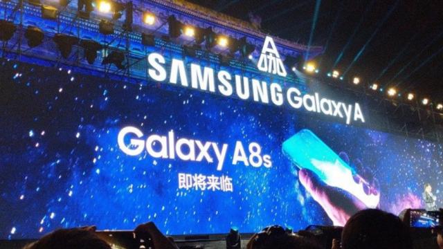 Infinity-U дисплей Samsung Galaxy A8s на снимках – фото 1