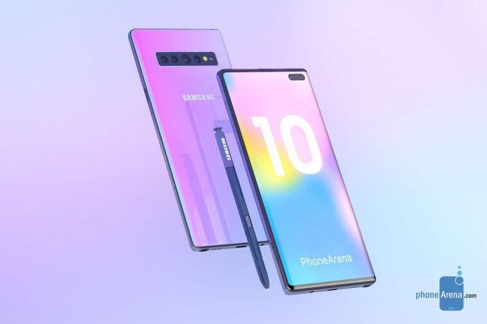 Samsung Galaxy Note 10 исполнит мечту о появлении бескнопочного мобильника – фото 2