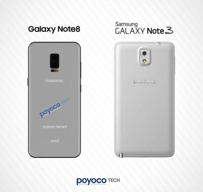 Samsung Galaxy Note 8: изображения подтверждают дизайн Galaxy S8 – фото 2