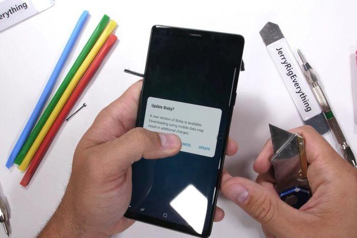Samsung Galaxy Note 9 пережил испытание на прочность – фото 1
