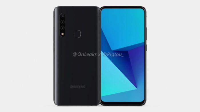 Рендеры смартфона Samsung: особенный аппарат для компании – фото 1