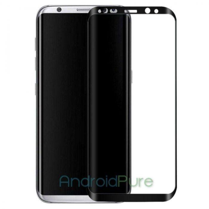 Утечка изображений защитного стекла для Samsung Galaxy S8 Plus – фото 2
