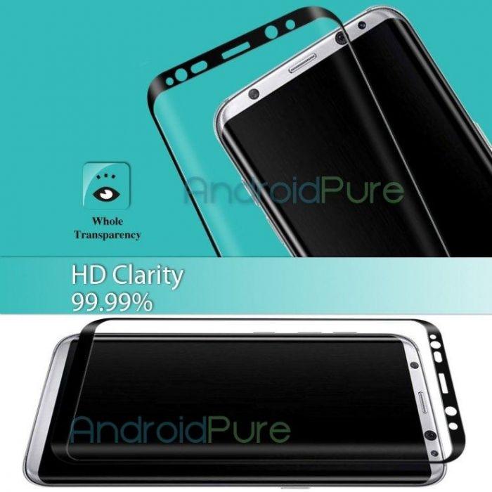 Утечка изображений защитного стекла для Samsung Galaxy S8 Plus – фото 3