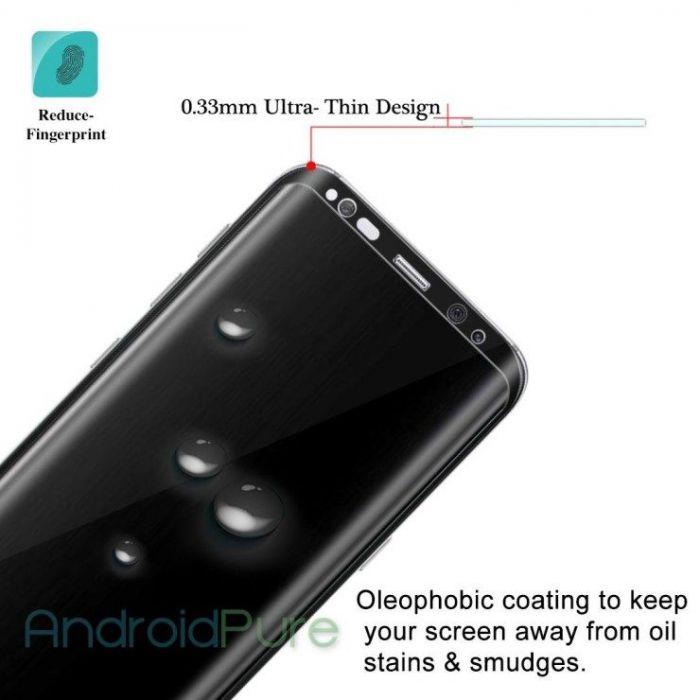 Утечка изображений защитного стекла для Samsung Galaxy S8 Plus – фото 4