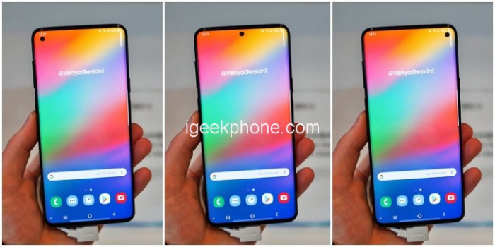 Инсайдер Ice Univerce: все изображения Samsung Galaxy S10 фейк – фото 1