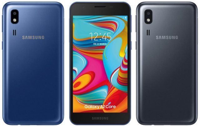 Рендер Samsung Galaxy A2 Core от Эвана Бласса – фото 2