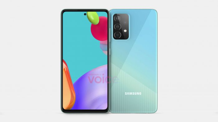 Про дизайн Samsung Galaxy A52: изображения смартфона – фото 1