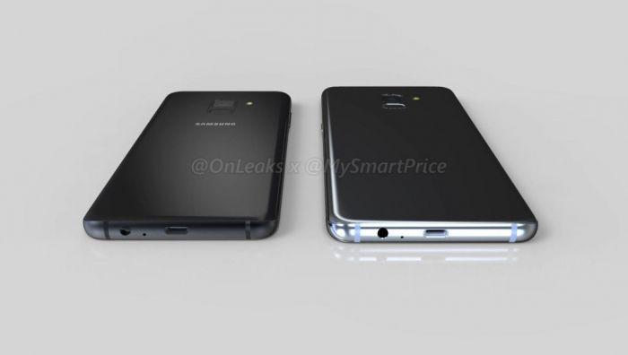 3D-ренедры показали те внешние преображения, что ждут Samsung Galaxy A5 (2018) и Galaxy A7 (2018) – фото 4