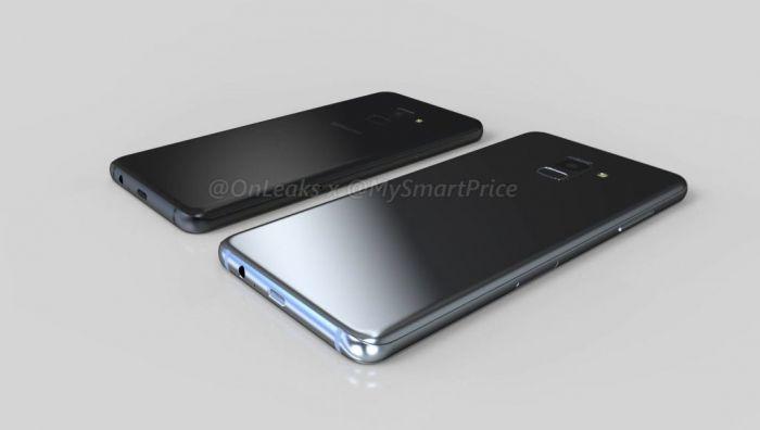 3D-ренедры показали те внешние преображения, что ждут Samsung Galaxy A5 (2018) и Galaxy A7 (2018) – фото 5