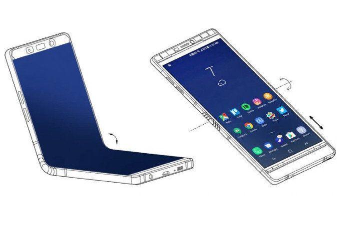 Сгибаемый Samsung Galaxy X — это Galaxy Note 8, но с тремя дисплеями – фото 1