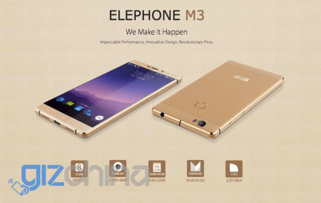 Elephone M3: смартфон с Helio P10, USB Type-C и в двух модификациях – фото 4