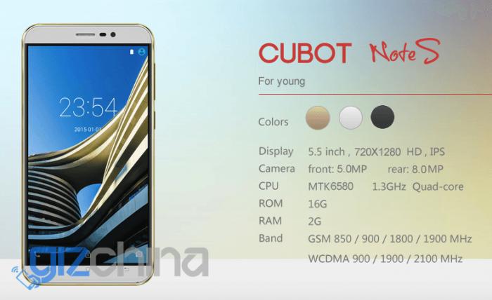 Cubot Note S – доступный китаец с аккумулятором 4150 мАч и за $69,99 – фото 2