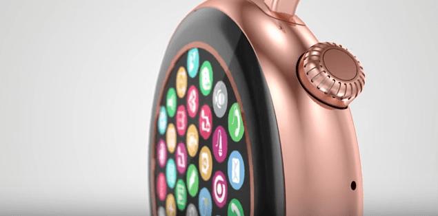 Aiwatch C5: реплика не анонсированных Apple Watch 2 с круглым корпусом – фото 1