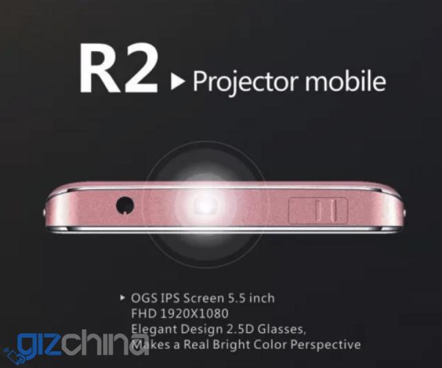 Siswoo R2: смартфон с проектором едет на MWC 2016 – фото 1