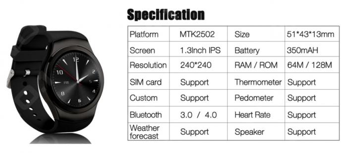 No.1 G3 – как ответ Samsung Gear S2 – фото 2