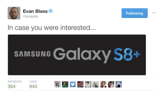 Samsung Galaxy S8 придет с 6 Гб ОЗУ и увеличенная версия флагмана получит название Galaxy S8+ – фото 1