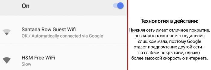 Android научили подсказывать самую быструю WiFi сеть – фото 2