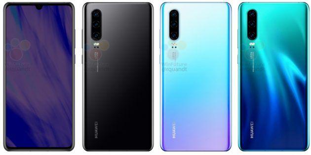 Качественные изображения Huawei P30 и Huawei P30 Pro от авторитетного источника – фото 6